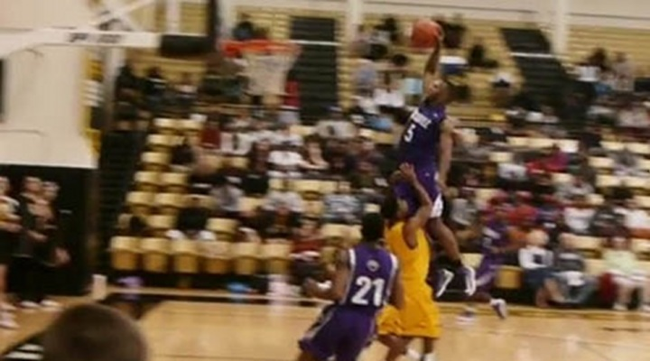 Dunk of the Day: Jacksonville College Sophomore Daniel Skinner's Slam Dunk from the Free Throw Line [Video]