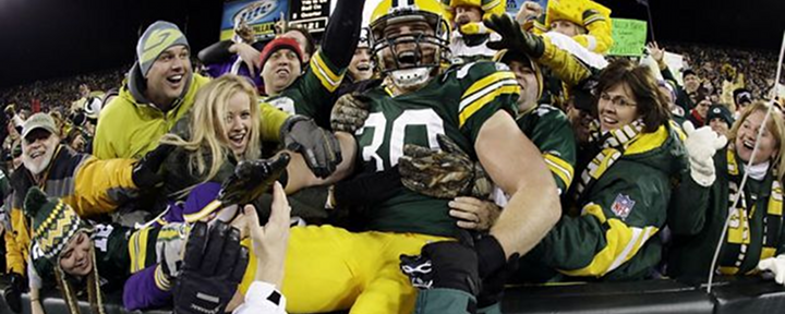 Packers FB John Kuhn Makes the Vikings Pay in Green Bay's 24-10 Win Over the Vikings [Video Highlights]