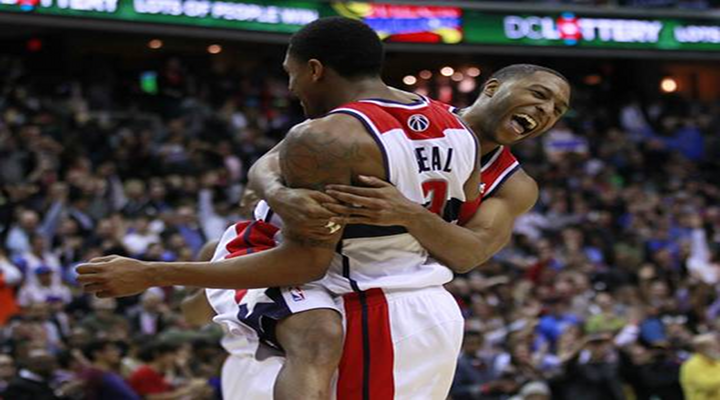 Wizards Bradley Beal Hits Out-Of-Control Jumper Beat the Thunder 101-99 in Washington [Video]