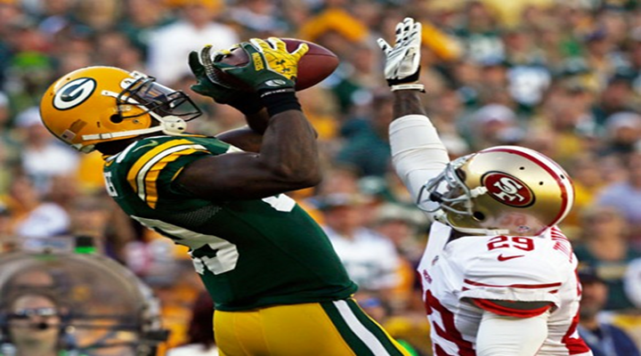 Catch of the Day: Packers WR James Jones Makes Circus Juggling Catch Against 49ers [Video]