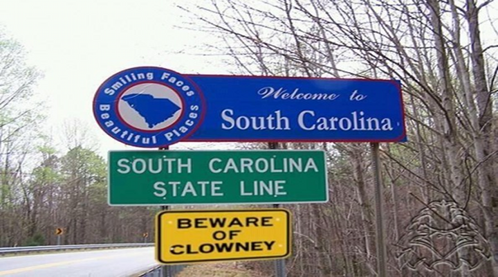 Beware of Clowney Sign on South Carolina Highway is a Fitting Tribute