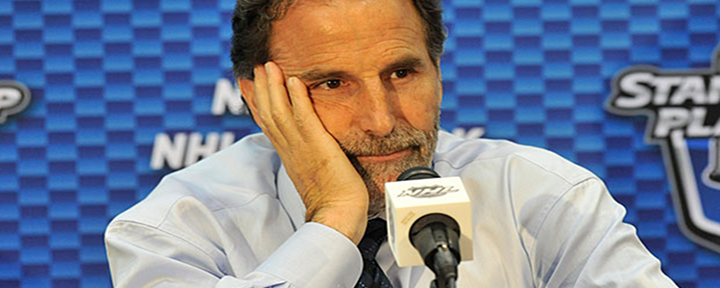 "Rangers Coach John Tortorella to Reporter: ""That's Just a Stupid Question.... That's a Dumb Question."""