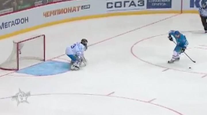 Jori Lehtera Scored Fancy No Shot Goal During Penalty Shootout in KHL All-Star Game [Video]