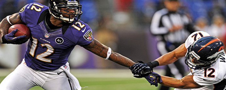 """You Got Knocked the F*ck Out!"": Ravens Returner Jacoby Jones Runs Into His Own Player [Video]"