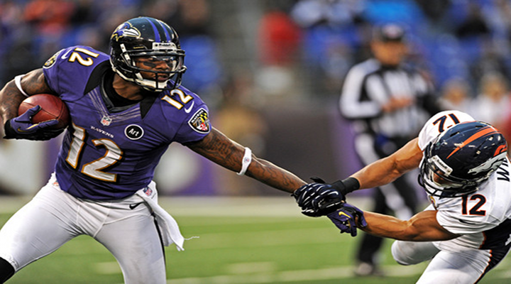 """""""You Got Knocked the F*ck Out!"""": Ravens Returner Jacoby Jones Runs Into His Own Player [Video]"""