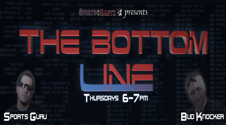 The Bottom Line: Episode 7 (01-17-12) – Special Guest Fantasy Trade 411 Co-Host Breaking Down NFL Spreads