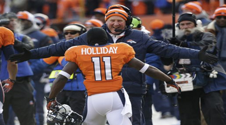 Trindon Holiday Does It Again; Returns 2nd Half Opening Kick for 104-Yard Touchdown to Give Broncos 28-21 Lead [Video]