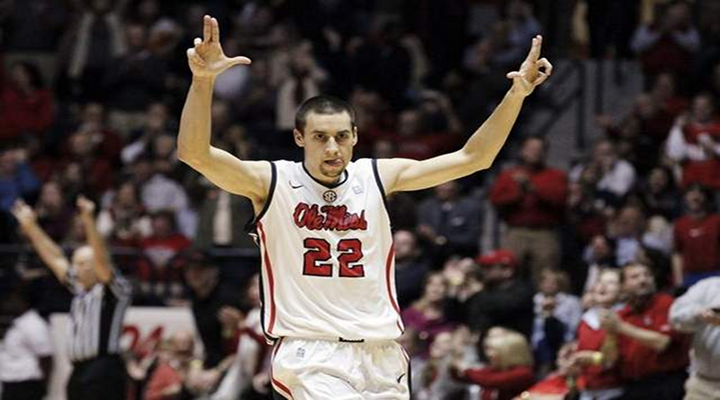 Marshall Henderson Threw Ice Into the Ole Miss Student Section Because He's Marshall Henderson [Video]