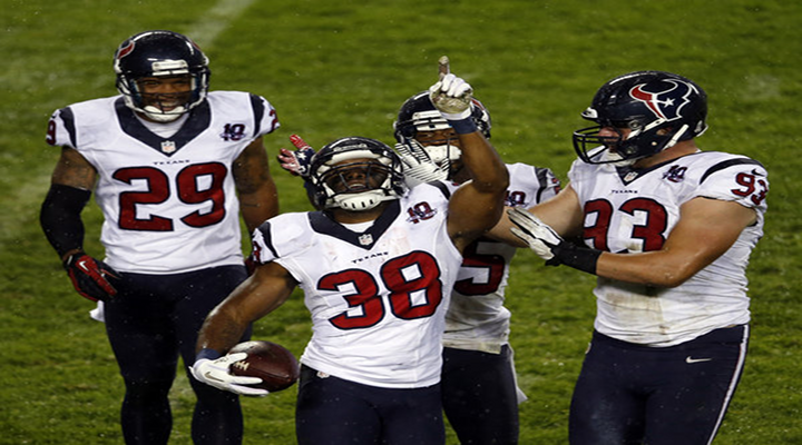 Danieal Manning Takes Opening Kickoff 94-Yards; Texans Settle For Field Goal