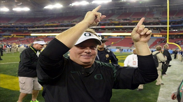 Chip Kelly is the New Coach of the Philadelphia Eagles