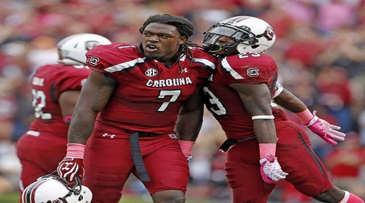 """You Got Knocked the F*ck Out!"": Jadeveon Clowney Went Into Beast Mode Against Michigan with Massive Hit [Video]"