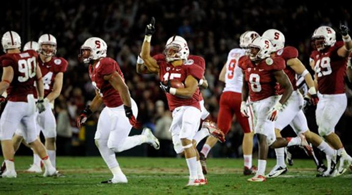 2013 Rose Bowl Game: Wisconsin QB Curt Phillips Throws Late INT to Give Stanford 20-14 Win