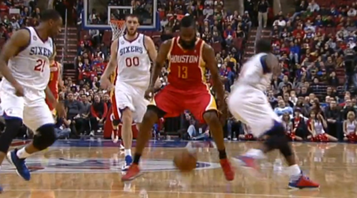 James Harden Embarrassed Jrue Holiday With a Behind-the-Back, Between-the-Legs Crossover [Video]