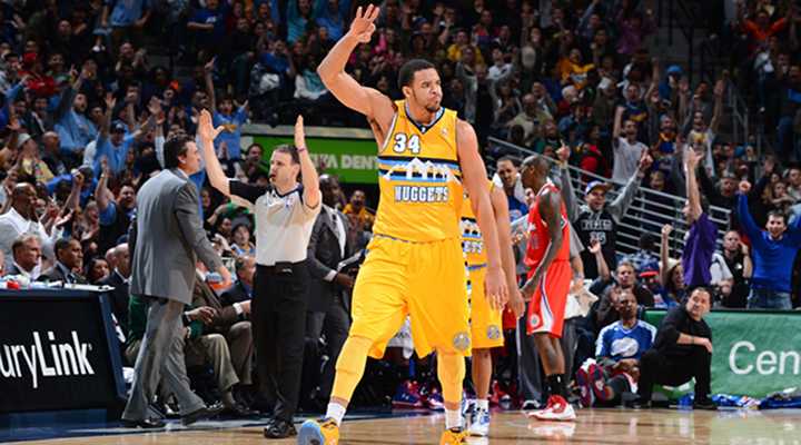 Slammin': JaVale McGee's Clutch Alley-Oop Slam, Lifts Nuggets to Sixth Straight Wins [Video]