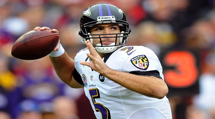 Joe Flacco Throws 70-Yard Touchdown Pass to Jacoby Jones with :30 Sec Left to Send Game into Overtime [Video]