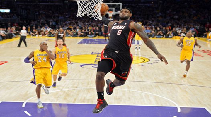 Slammin': Lebron James Dunked All Over the Lakers, Heat Win 99-90 at Staples Center [Video]