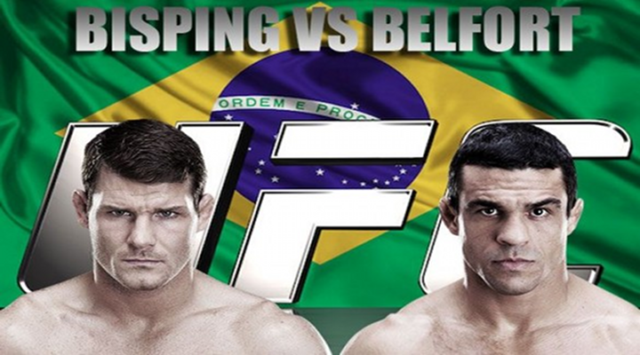 UFC on Fox Live! Bisping vs Belfort - Preview