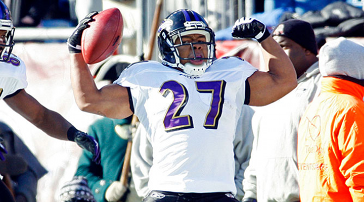 Ray Rice Scores First Touchdown of the AFC Championship Game [Video]
