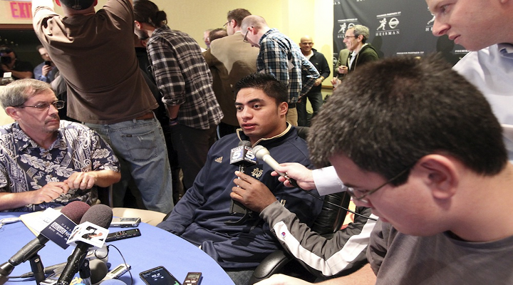 SI's Pete Thamel Released the Transcript of His Interview with Manti Te'o & His Girlfriend Hoax