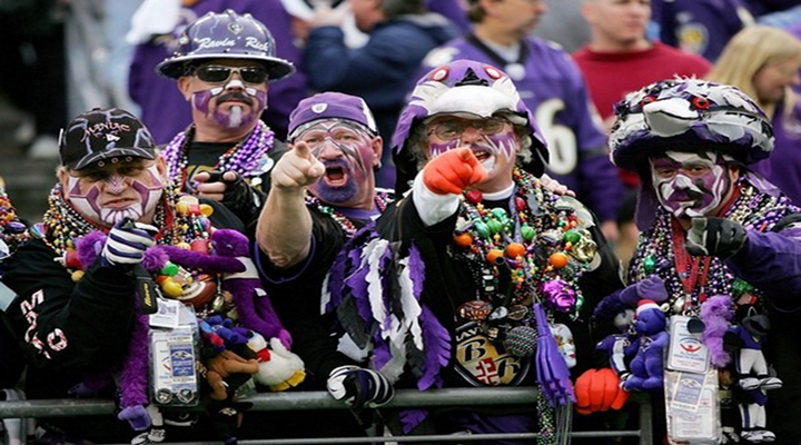 Baltimore Ravens Fan Goes Nuts; Wife Puts it on Internet So He Can Be Properly Shamed [Video]