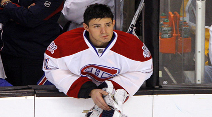 Montreal Goalie Carey Price Snags Puck From the Bench & Saves Reporter's Face [Video]