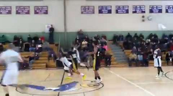 High School Basketball Player Hits Game-Winning Buzzer-Beater From His Knees [Video]