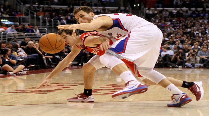 Clippers Blake Griffin Accidentally Racks Chandler Parsons in the Nuts, Parsons Calls Him Out On Twitter [Video]