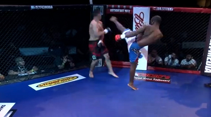 """You Got Knocked the Fuck Out!"": Devastating Head Kick Knock Out Spins Fighter Around [Video]"