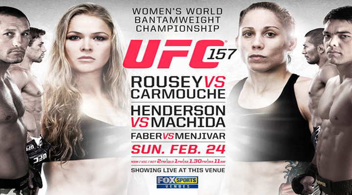 "UFC 157 ""Makin History"" Main Card Previews & Predictions"