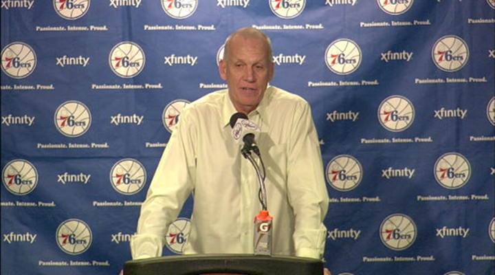 76ers Coach Doug Collins Ranted After Embarrassing Loss to Orlando, Will He Be Coaching Philadelphia Next Season? [Video]