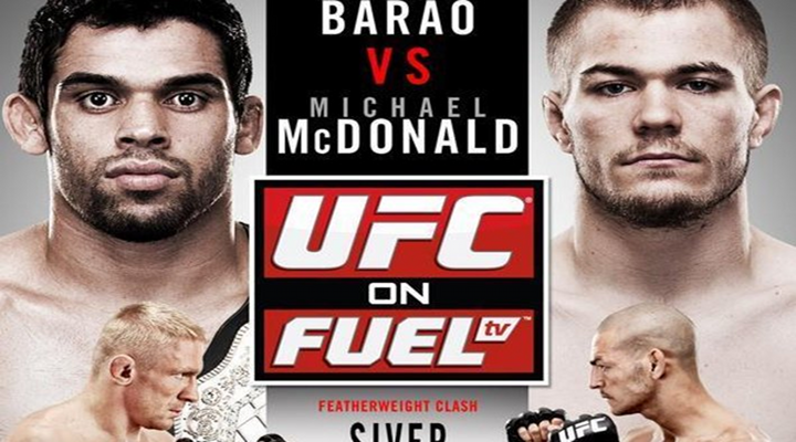 UFC on FUEL 7: A Title Fight in England on Free TV - Renan Barão vs Michael McDonald