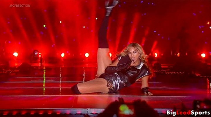 Beyonce Knowles Just Won My Vote for Best Super Bowl Halftime Show