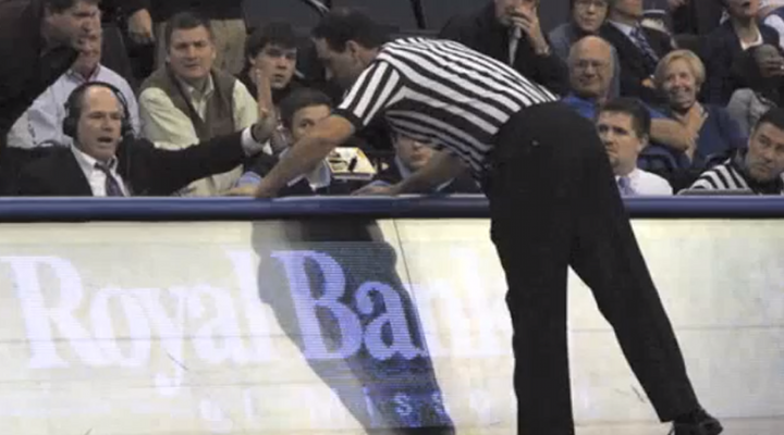 St. Louis University Radio Announcer Confronted by Referee Live On the Air After Criticizing a Call