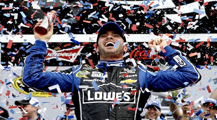 Jimmie Johnson Back on Top: Wins the Daytona 500 for the Second Time in His Career