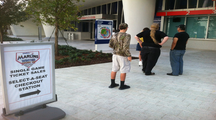 The Line For the Miami Marlins Tickets Is Short, But Distinguished