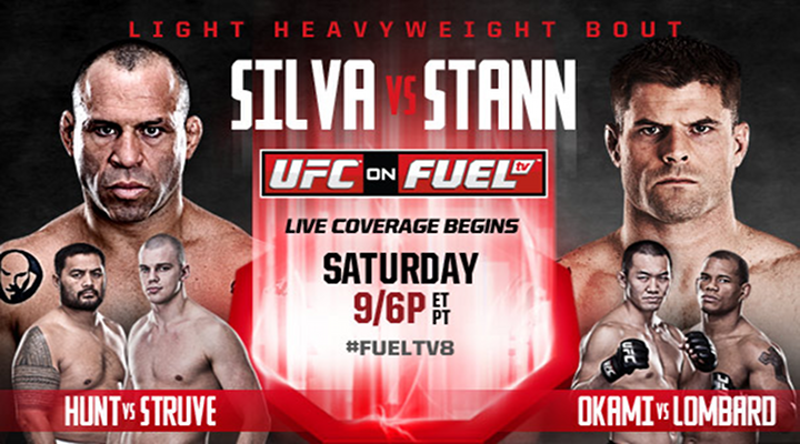 UFC on Fuel 8: Wanderlei Silva vs Brian Stann - Preview & Predictions