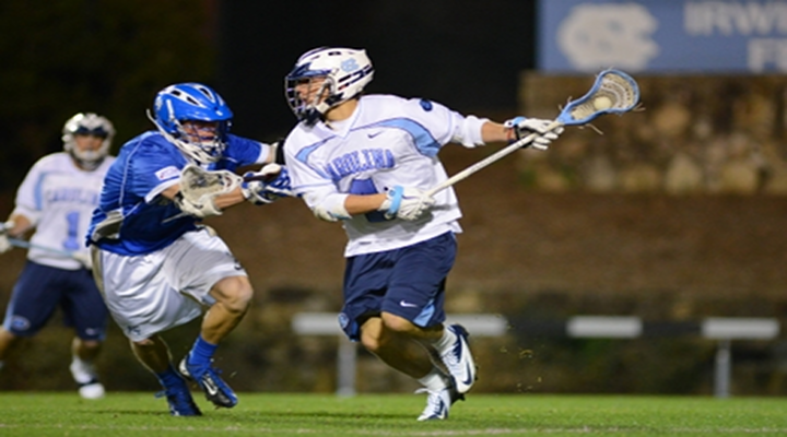 UNC Lacrosse Player, Jimmy Bitter, Was Hit in the Nuts by a Duke Player Swinging His Lax Stick [Video]