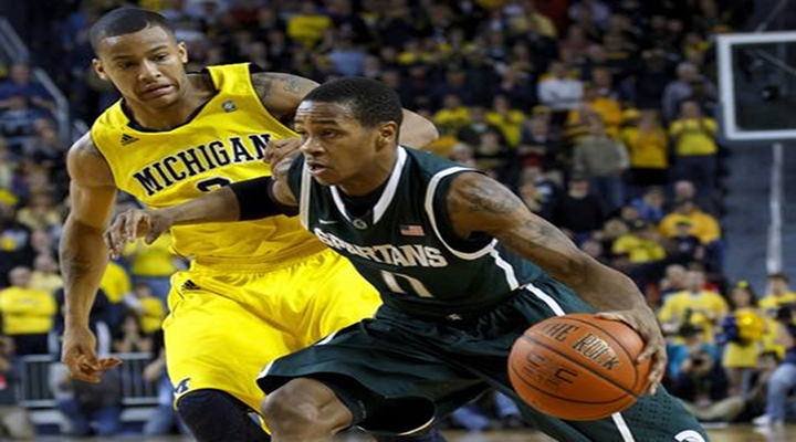Trey Burke's Two Steals Clinched #4 Michigan's 58-57 Win Over #9 Michigan State [Video]