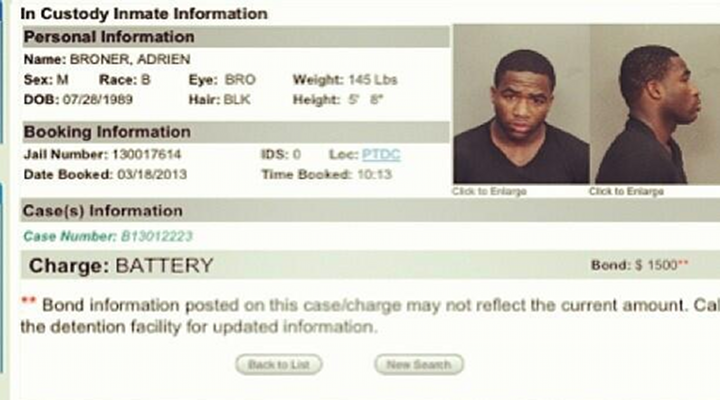 BoneHead: WBC Undefeated Boxing Champion, Adrien Broner, Arrested After Fight at Miami Nightclub