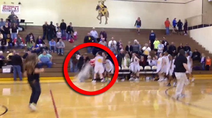 Wide World of Sports: Gatorade Bath Turns into Epic Fail as Coach Falls on His Face [Video]