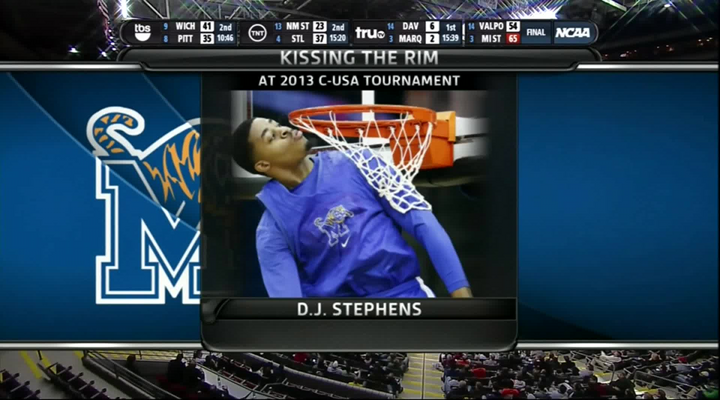 Memphis's D.J. Stephens Threw Down a Huge Alley-Oop Against St.Mary's & He Can Also Kiss the Rim [Video]
