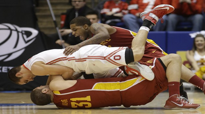 Georges Niang Dropped a Shoulder into Aaron Craft, Tried to Be Slick About it, But it Just Angered Buckeyes