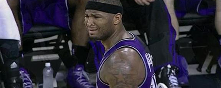 DeMarcus Cousins and Mike Dunleavy Got Tangled Up; Cousins then Yelled at Dunleavy & Elbowed Him in the Head [Video]