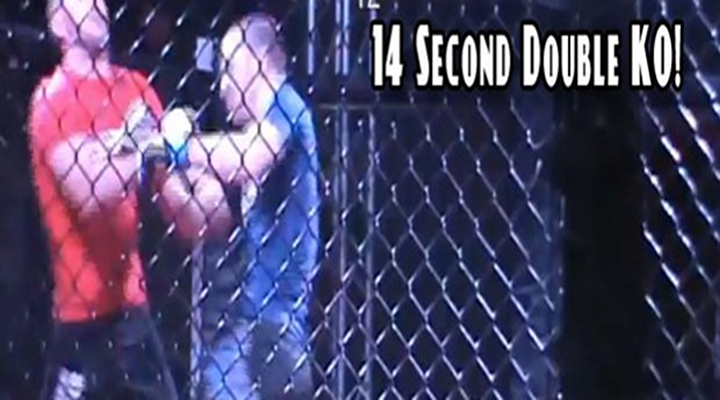 """You Got Knocked the Fuck Out!"": Amazing Double-Knockout from Amateur MMA Fight in California [Video]"