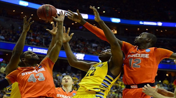 Syracuse Holds Marquette to 39 Points, Fewest in Regional Final In Shot Clock Era