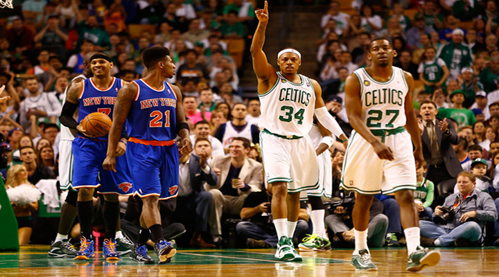 Jason Terry Goes Off in Overtime to Keep Celtics Alive With Win Over Knicks in Game 4 [Video]