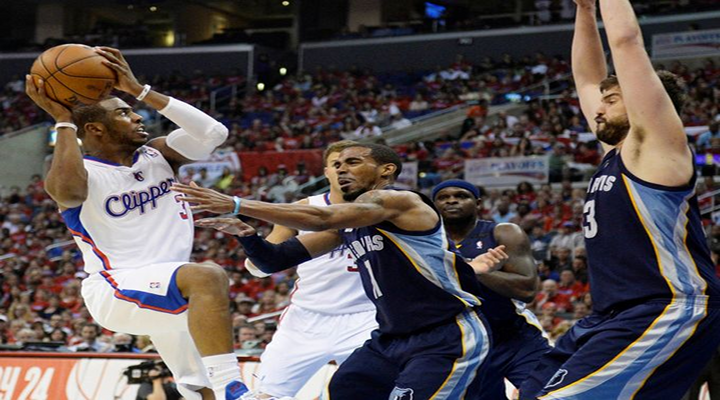 Chris Paul's Game Winning Lay Up Gives Clippers a 2-0 Series Lead Over Grizzlies [Video]