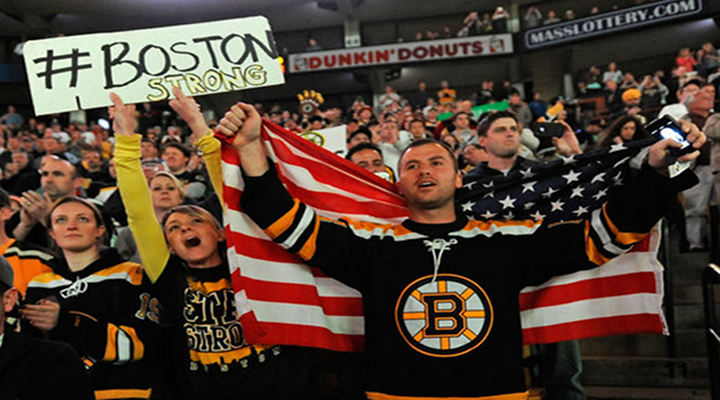 Here's the Pre-Game Tribute and National Anthem from Today's Boston Bruins Game [Video]