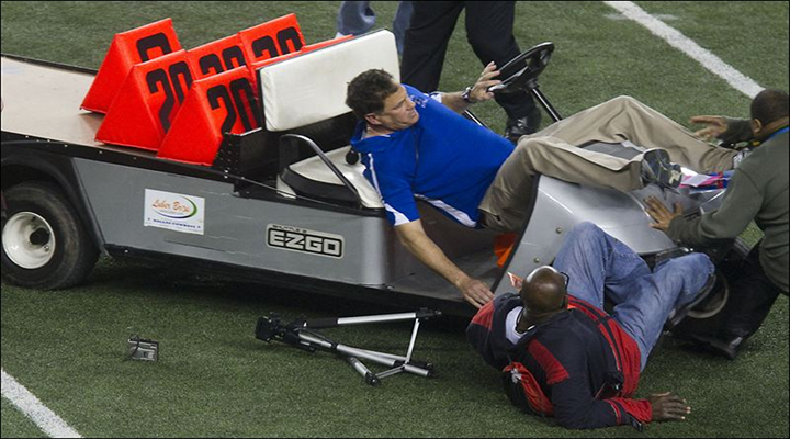 Father of Patriots Receiver Danny Amendola is Suing Cowboys Stadium over the Runaway Golf Cart in 2011