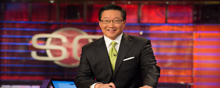 "ESPN Host Michael Kim With a LIVE Slip-Up – ""Get Your Penis"" Because Baseball Season Is Here! [Video]"